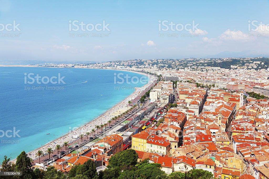 Nice, French Riviera royalty-free stock photo