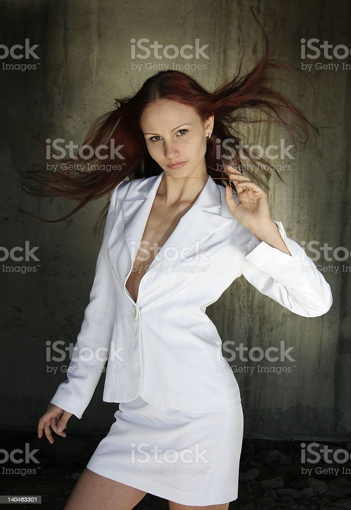 Nice girl royalty-free stock photo