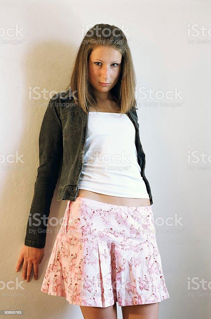 Nice girl royalty-free stock photo