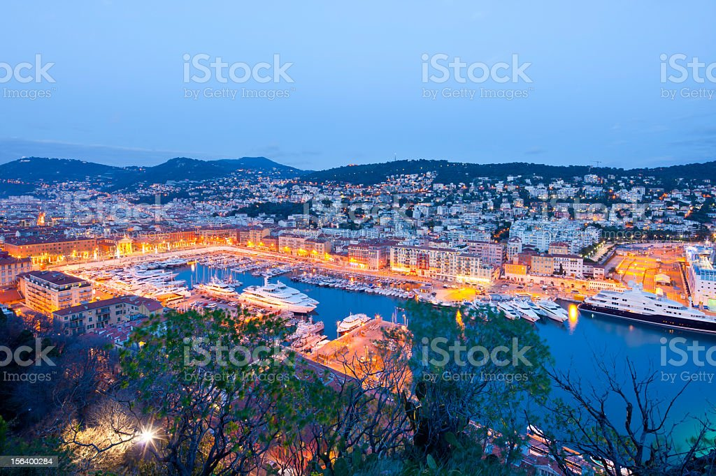 Nice harbor royalty-free stock photo