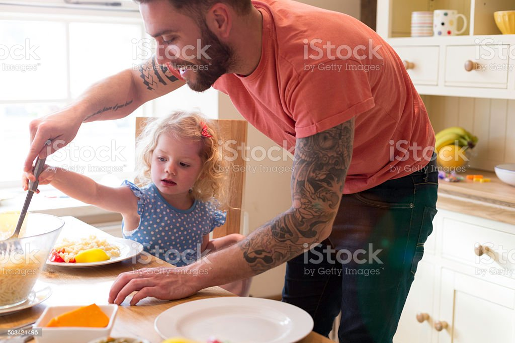 Nice healthy lunch for you. stock photo
