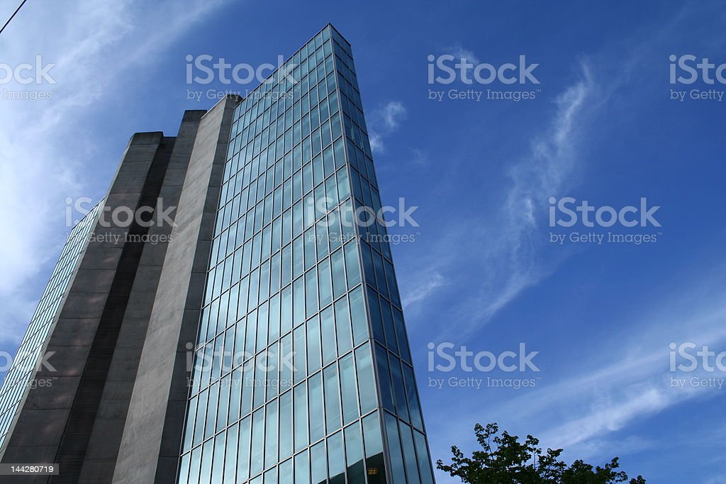 nice high rise royalty-free stock photo