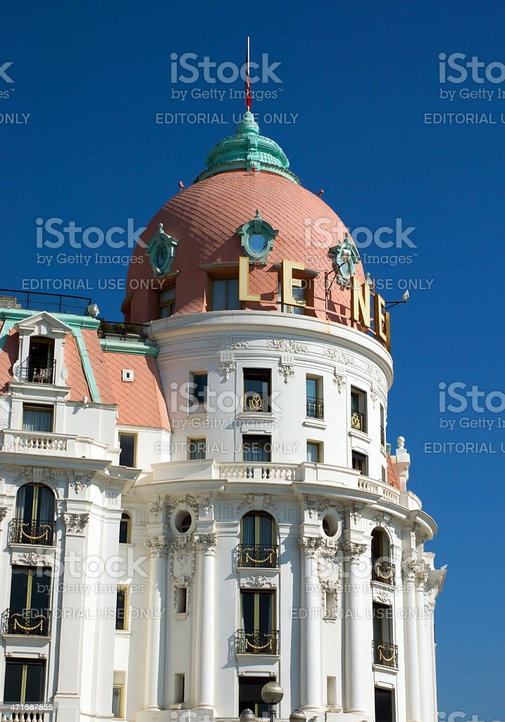 Nice - Hotel Negresco royalty-free stock photo