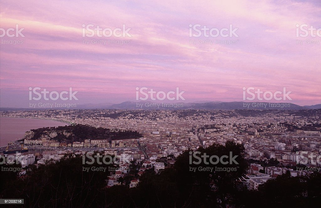 Nice in the dawn royalty-free stock photo