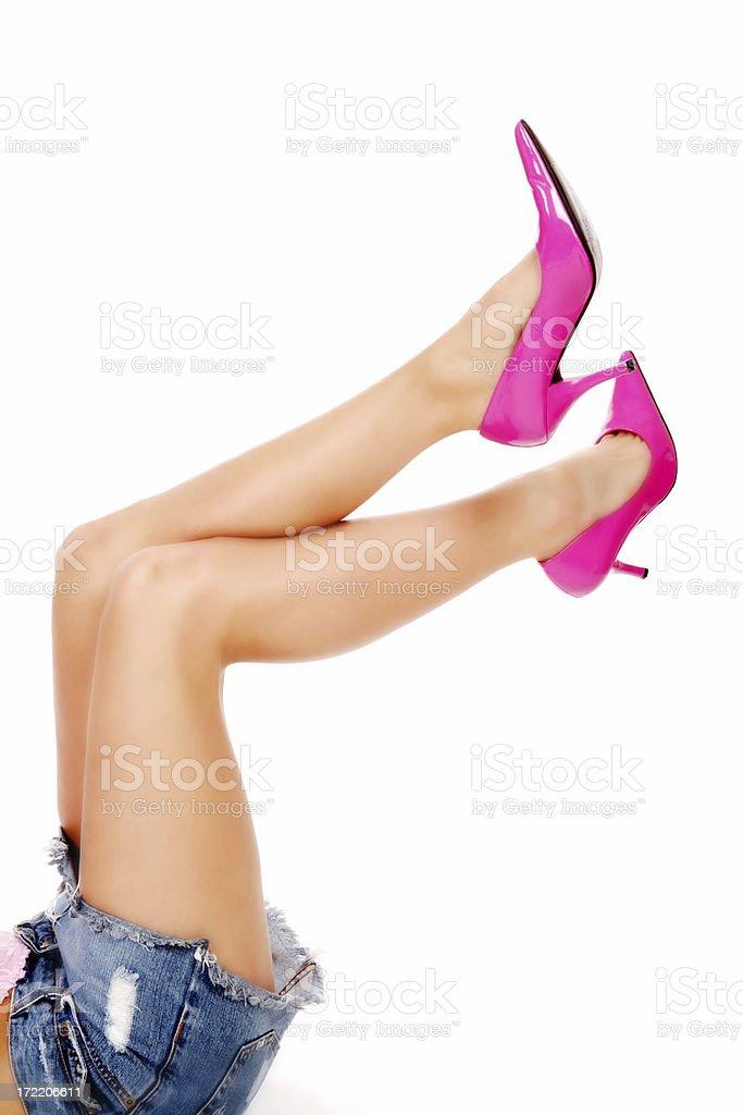 Nice Legs royalty-free stock photo