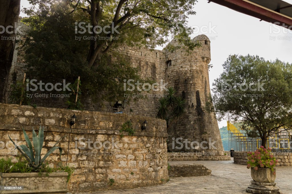 Nice looking fortress stock photo