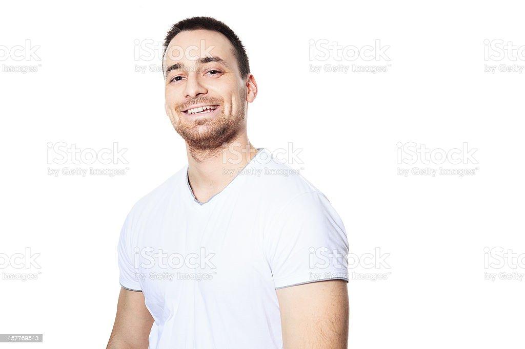 Nice Men Portrait - Happy royalty-free stock photo