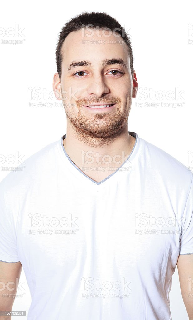 Nice Men Portrait - Person royalty-free stock photo