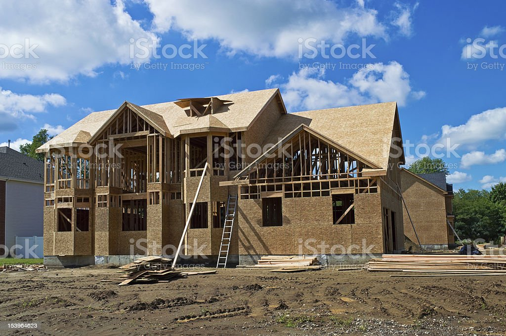 Nice New Home stock photo