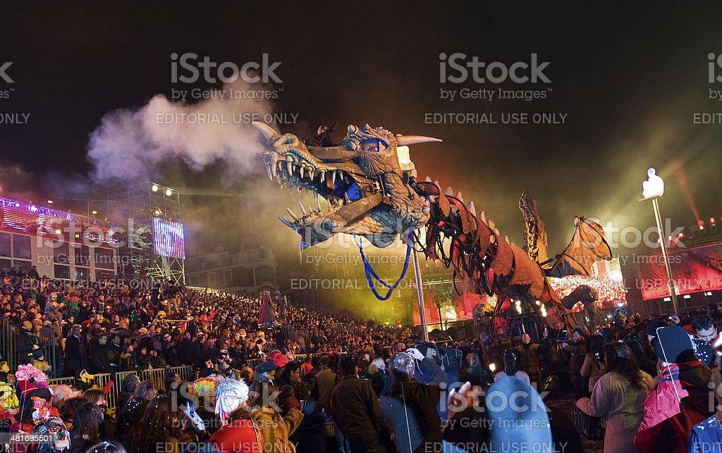 Nice Night Carnival royalty-free stock photo