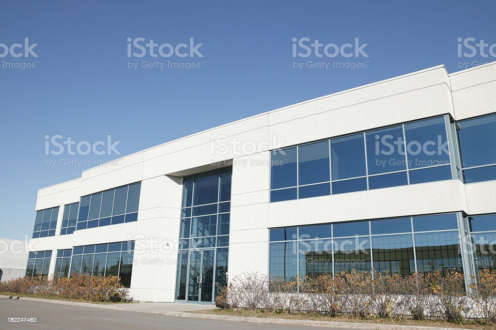 nice office building royalty-free stock photo