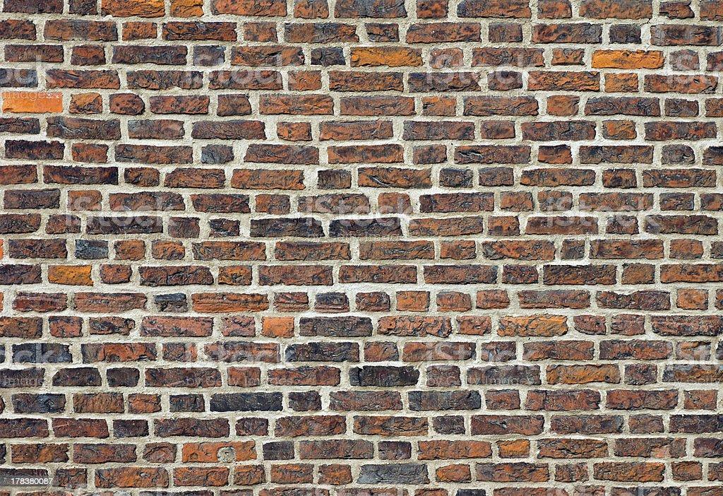 Nice old brickwall stock photo