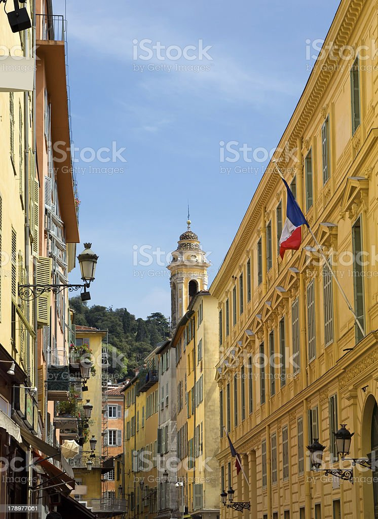 Nice - Old town royalty-free stock photo