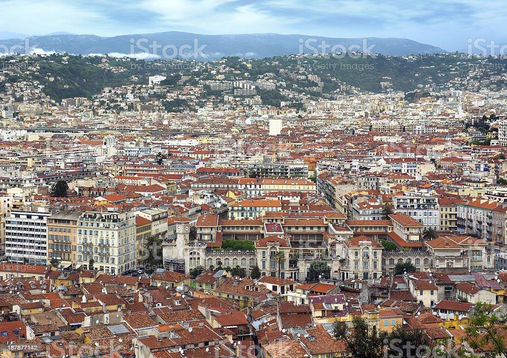 Nice - Panoramic view royalty-free stock photo