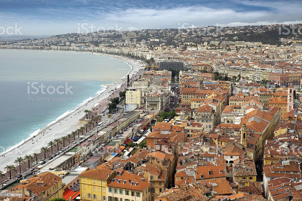 Nice - Panoramic view royalty-free stock photo