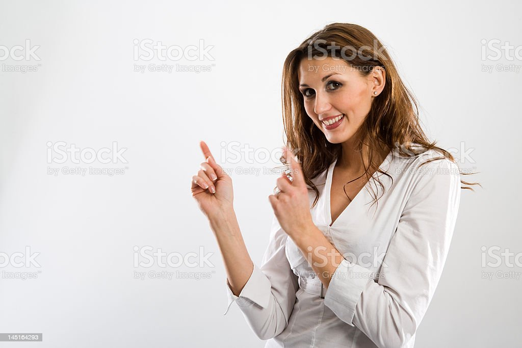 Nice pay attention stock photo