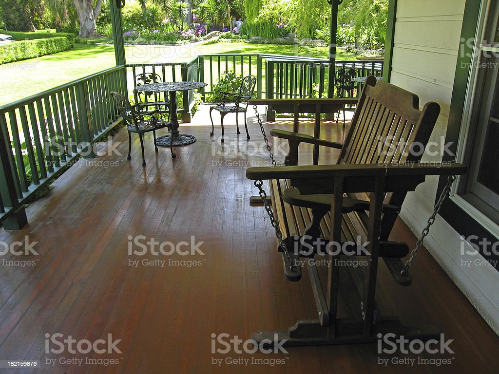 Nice place to sit royalty-free stock photo