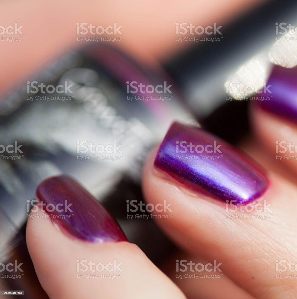Nice polish stock photo