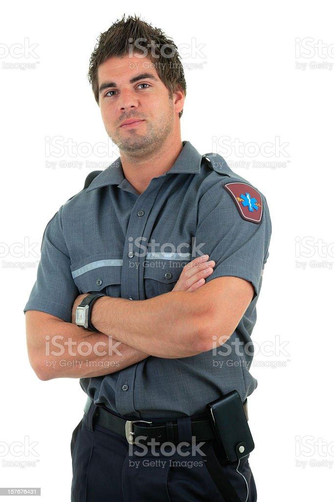 Nice Professional Paramedic stock photo
