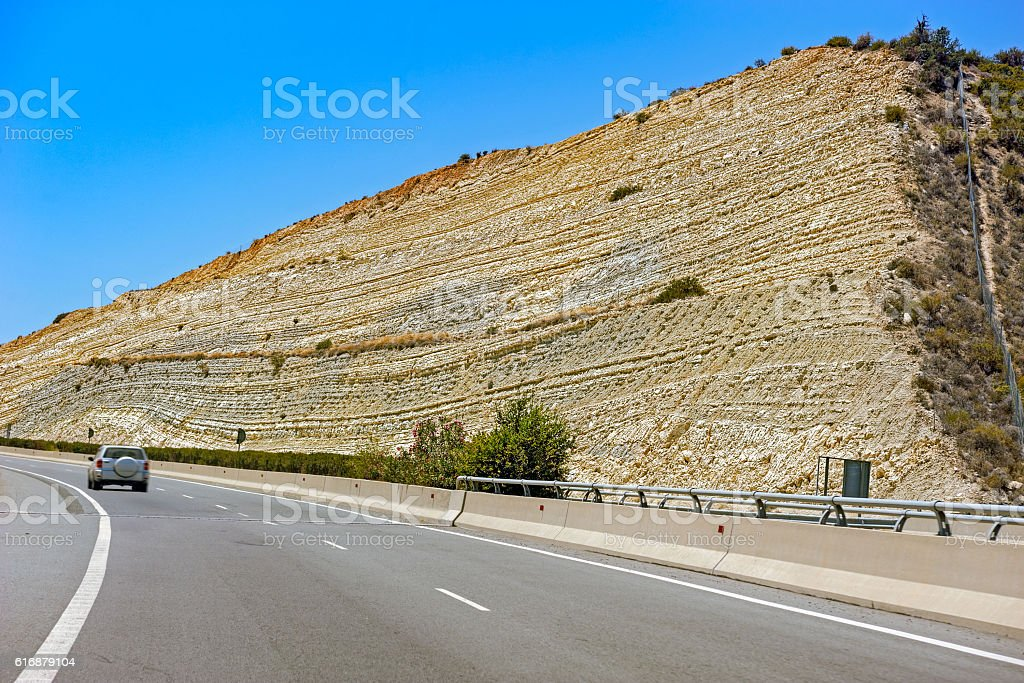 Nice rock texture stock photo