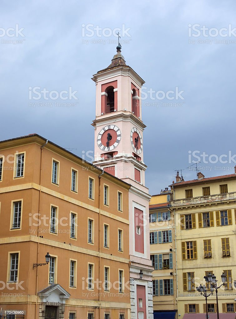 Nice - Rusca Palace royalty-free stock photo