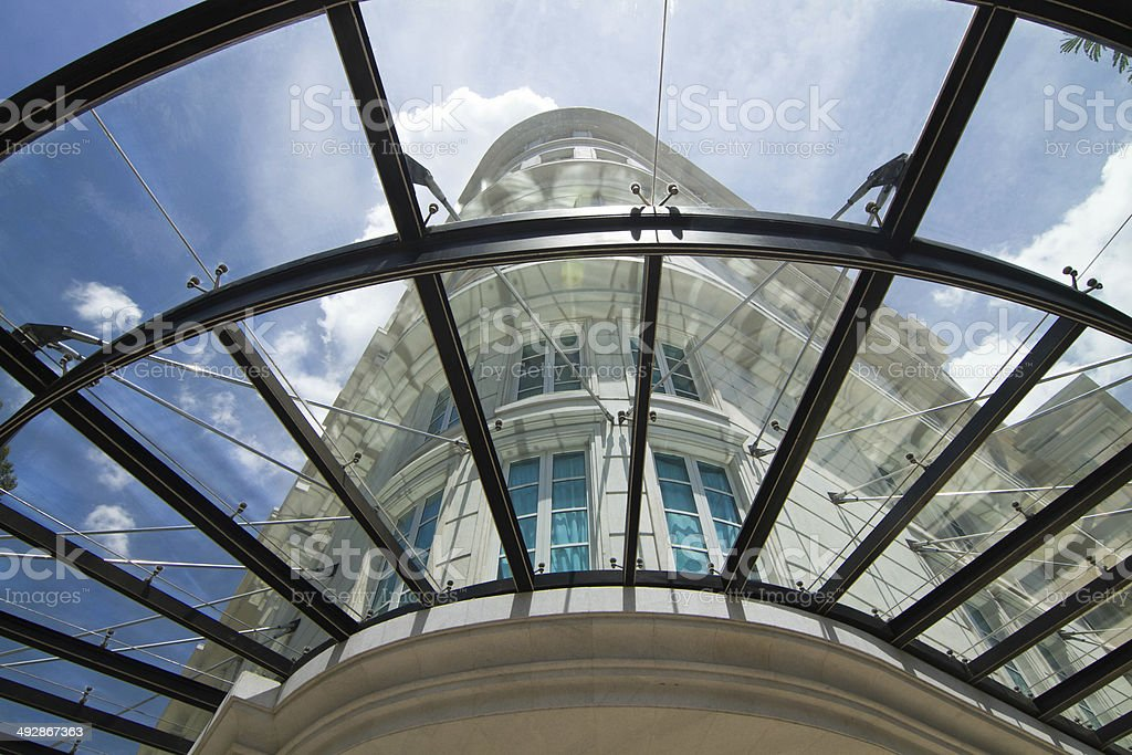 Nice shot of an wonderful architectural building royalty-free stock photo