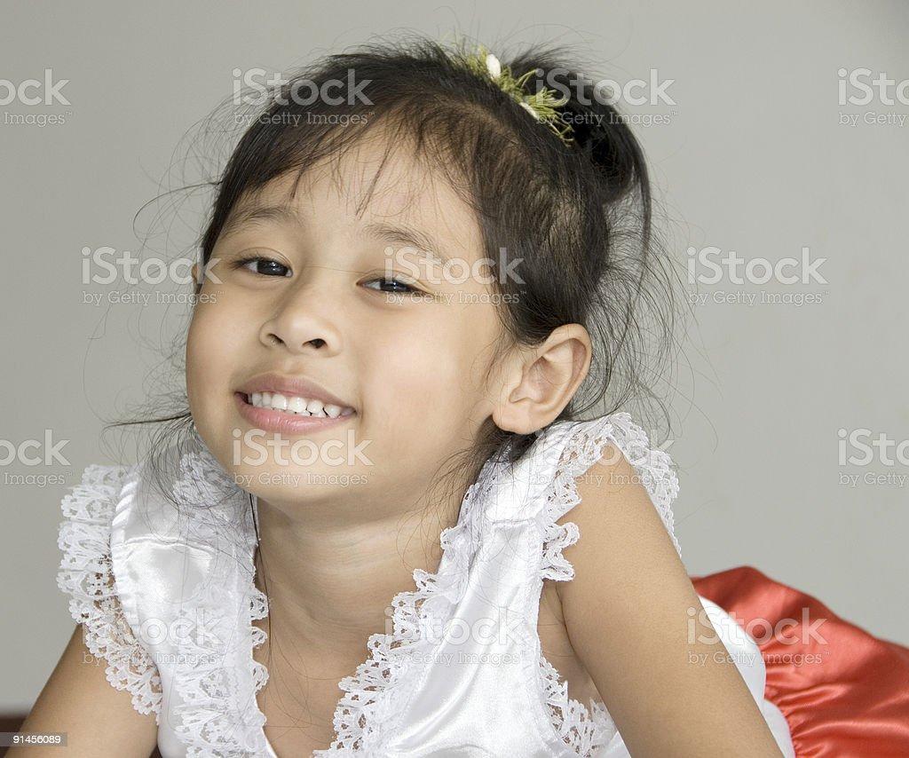 Nice smile royalty-free stock photo