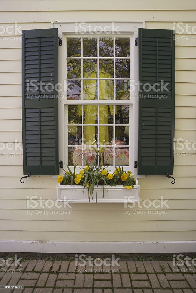 Nice store window stock photo