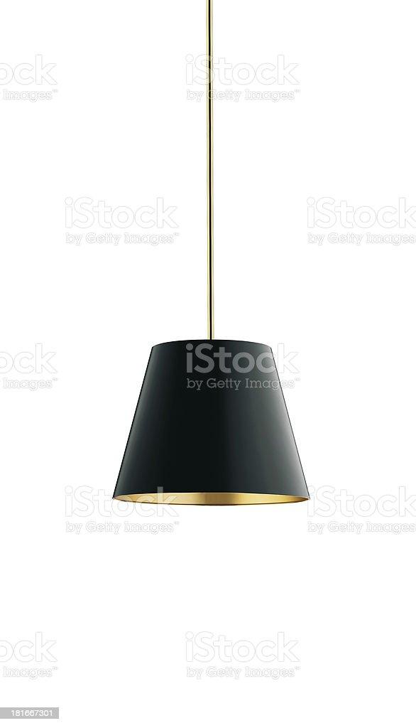 nice tall floor lamp royalty-free stock photo