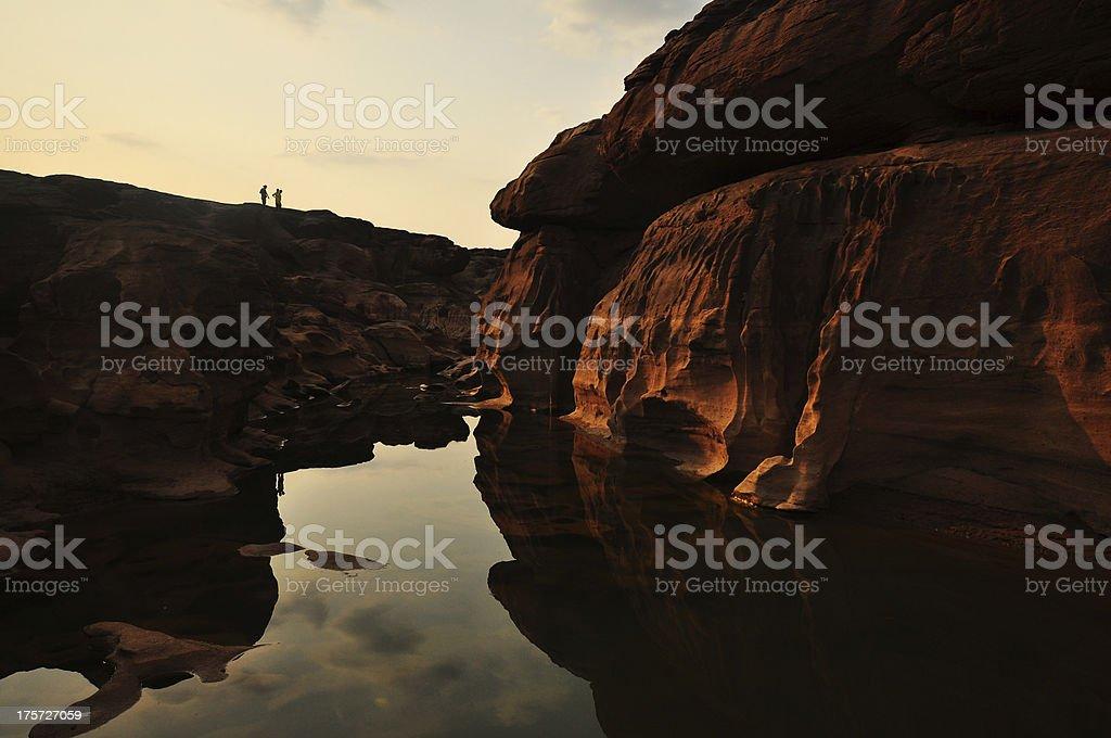 Nice Thailand Grand Canyon royalty-free stock photo