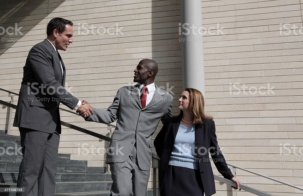 Nice to meeting you... royalty-free stock photo