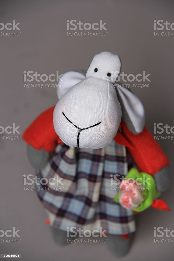 nice toy of handwork stock photo