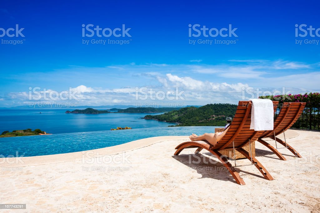 Nice view stock photo