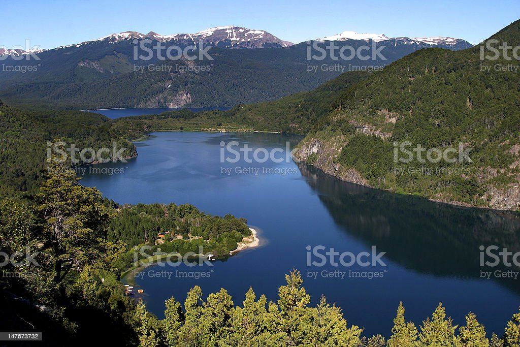 Nice Wiew of Patagonia stock photo