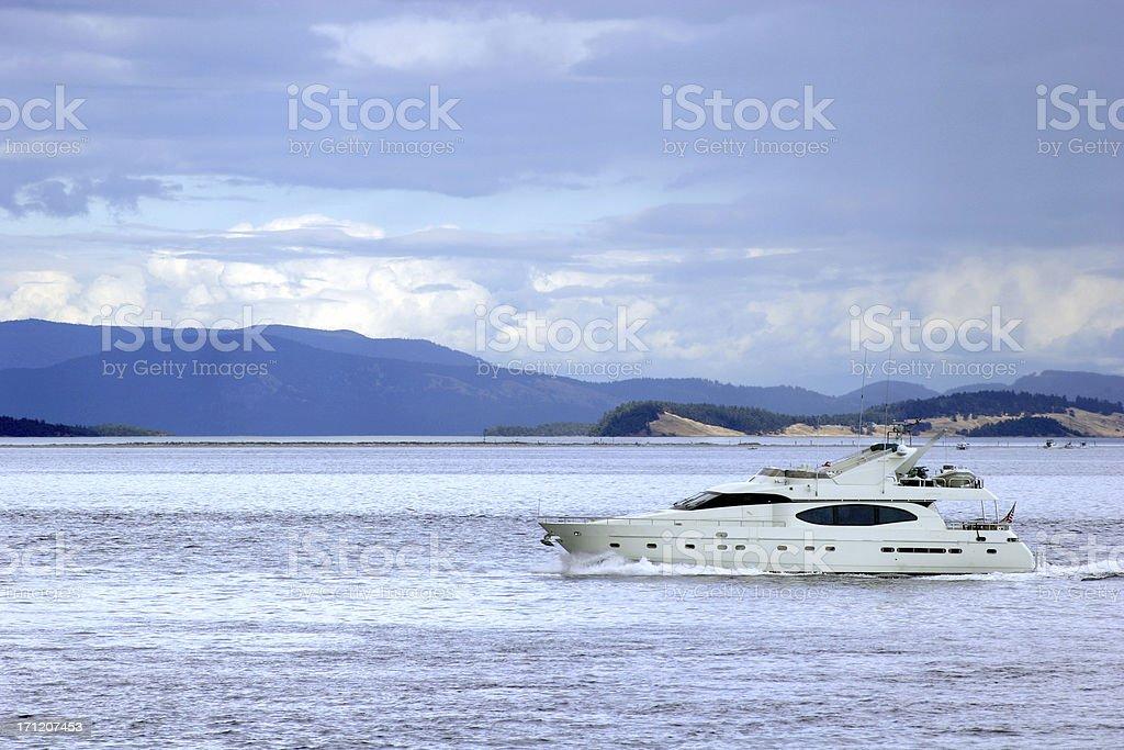 Nice Yacht! royalty-free stock photo