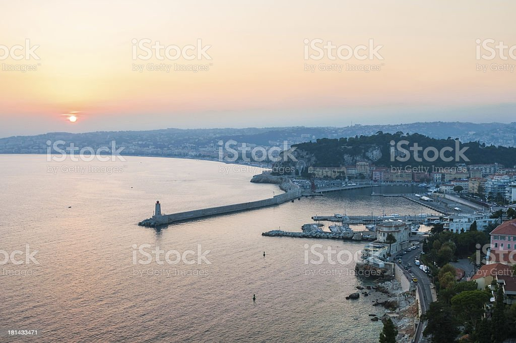 Nice,South France royalty-free stock photo