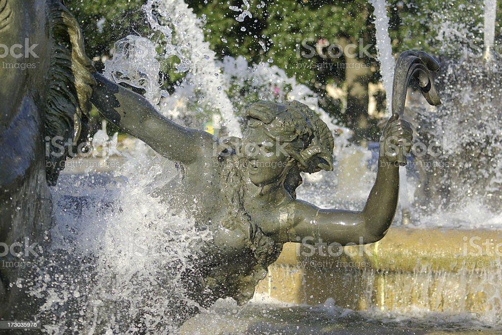 'JC Nichols Fountain, Kansas City' stock photo