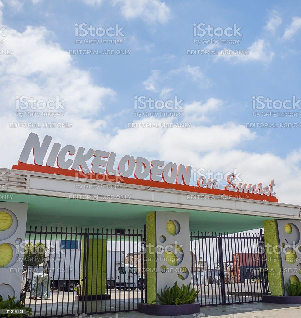 Nickelodeon royalty-free stock photo