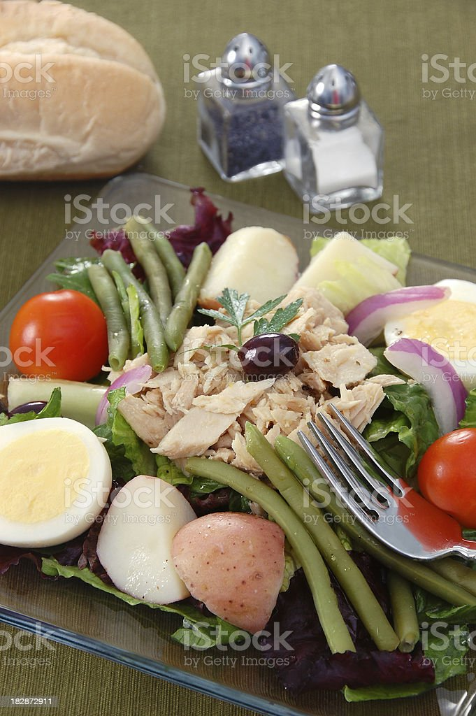Salade Nicoise royalty-free stock photo