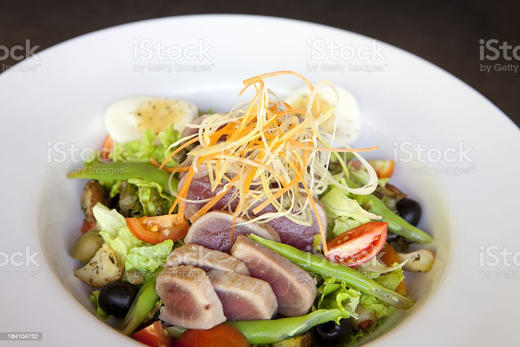 nicoise salad royalty-free stock photo