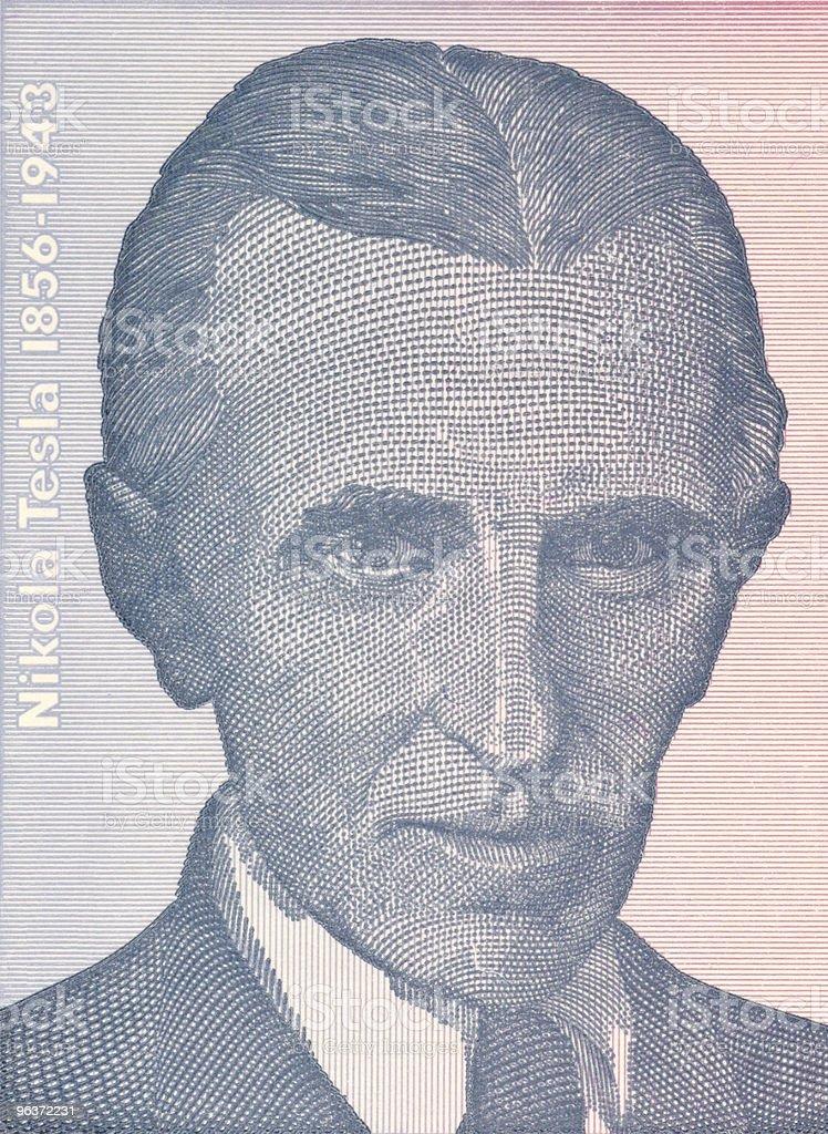 Nicola Tesla stock photo