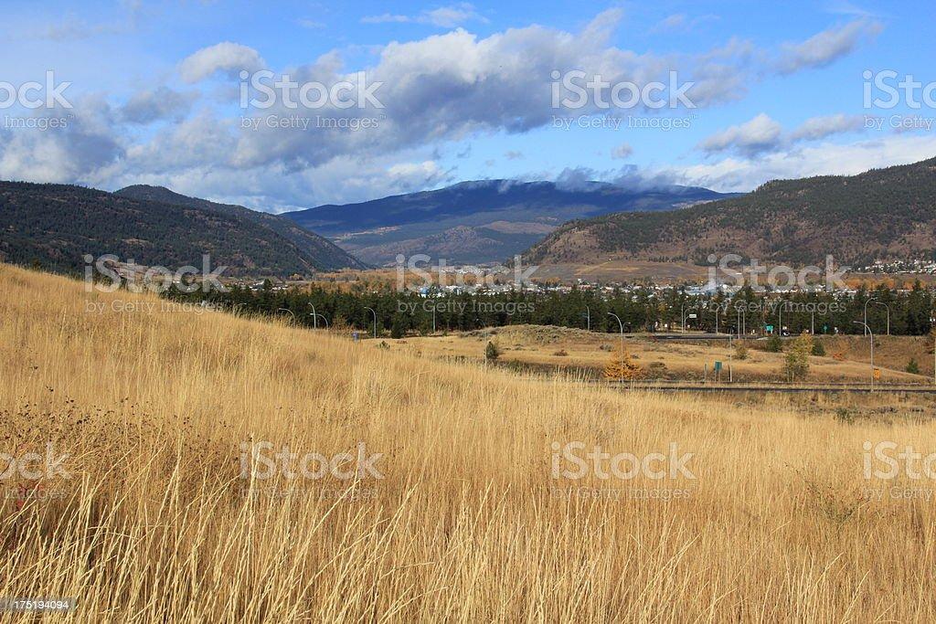 Nicola Valley stock photo