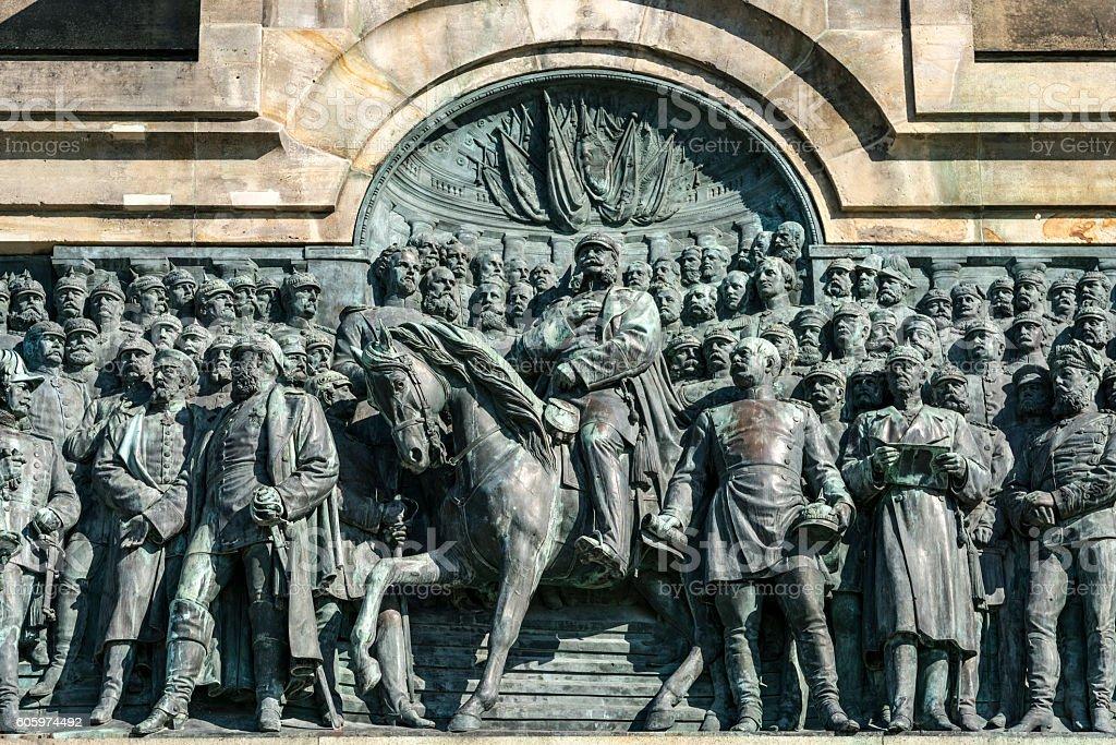 Niederwalddenkmal stock photo