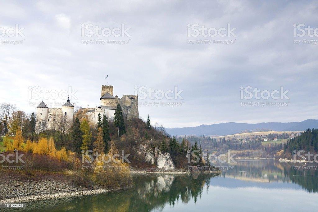 Niedzica Castle, Poland stock photo
