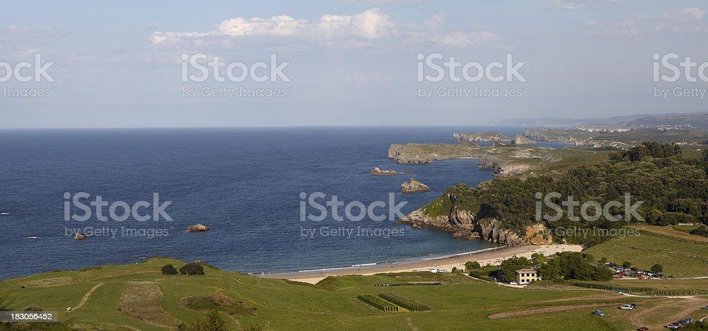 Niembro, Llanes area of Asturias Coastline, Spain stock photo