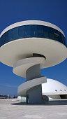 Niemeyer Center in Aviles, Spain