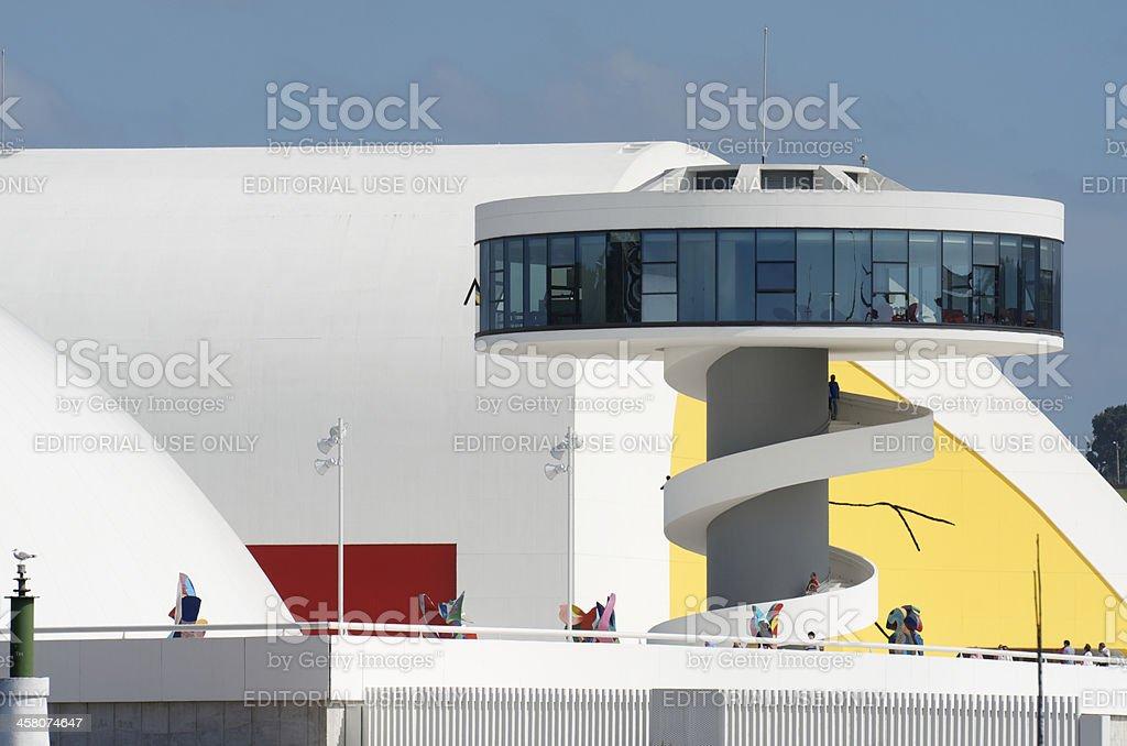 Niemeyer Center stock photo