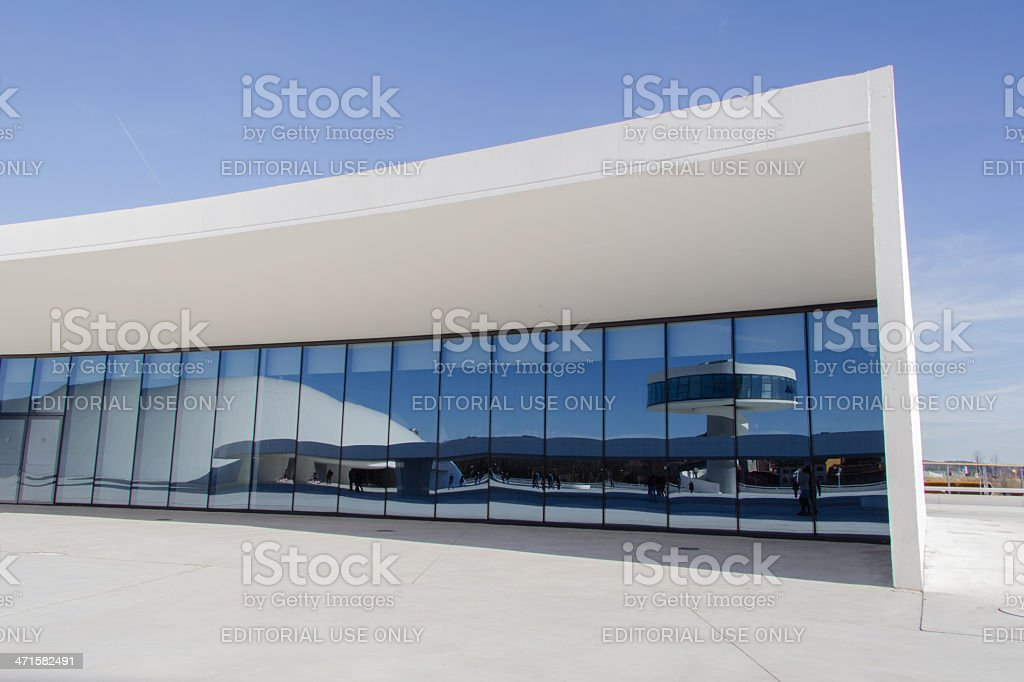 Niemeyer Cultural Center in Aviles, Spain royalty-free stock photo