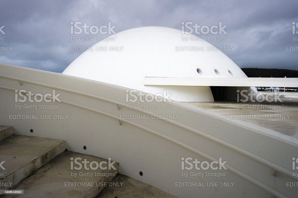 Niemeyer Dome stock photo