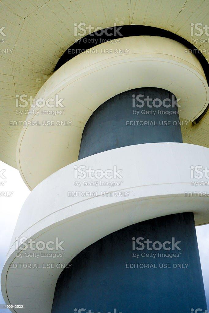 Niemeyer starway stock photo